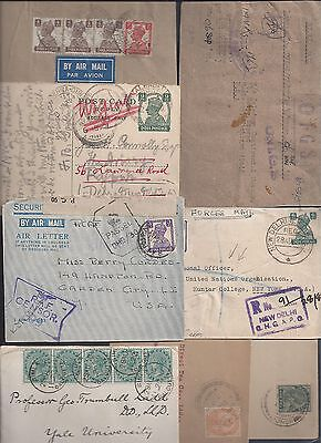India British India 1900 1946 Collection Of 8 Covers Including Forces Mail Qhq