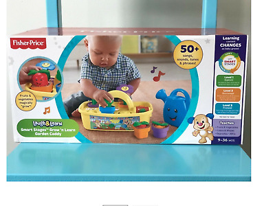 Fisher Price Laugh & Learn Smart Stages Garden Caddy