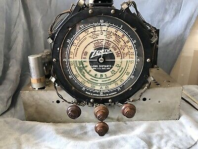Zenith Baby Stratophere Radio For Parts Or Repair