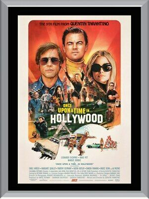 Once Upon A Time In Hollywood A1 To A4 Size Poster Prints