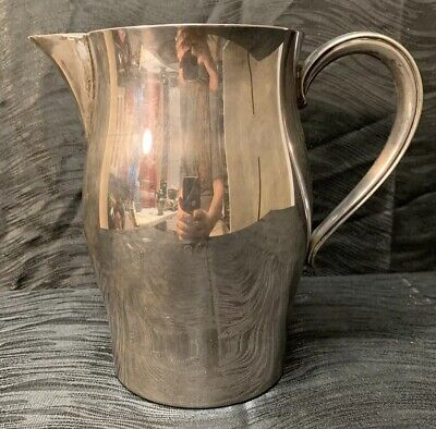 Vintage PAUL REVERE Reproduction Silverplate Water Pitcher