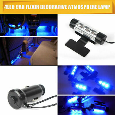 LED Interior Car Styling Foot Floor Blue Decorative Atmosphere Inside Neon Light