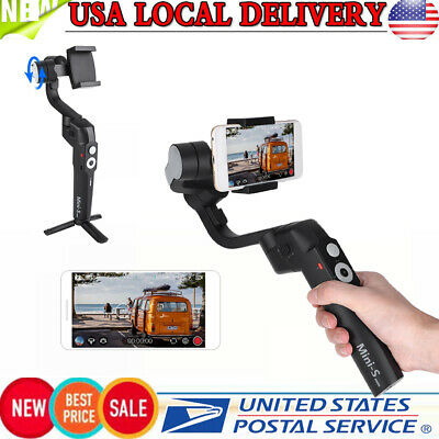 Foldable 3-Axis Smartphone Gimbal Handheld Vlog Stabilizer for Phone