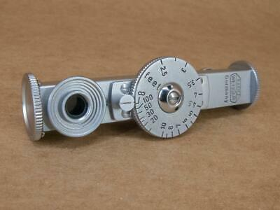 Leitz Leica FOKOS Short Base Rangefinder in Chrome with Feet Scale