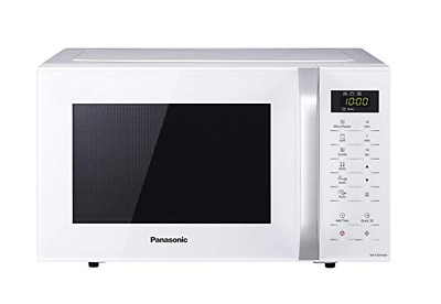 Panasonic NN-K35HWMBPQ Microwave with Grill 23 Litre, White [Energy Class A+++]