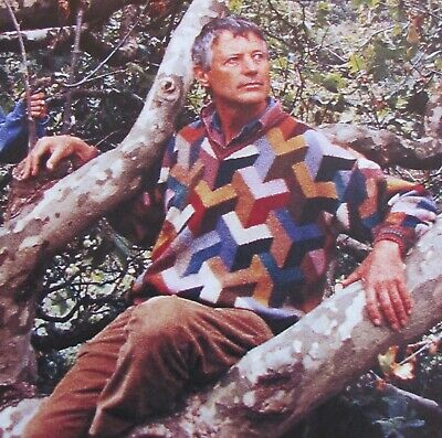 RARE! Rowan Kaffe Fassett RIGHT ANGLES SWEATER Knitting Kit