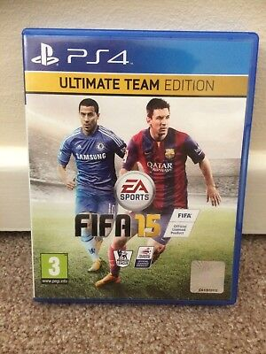 FIFA 15 Ultimate Team Edition- PS4  Game (No Manual, Might Not Have Come With)