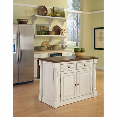 HOME STYLES FURNITURE Monarch Antique White Sanded ...