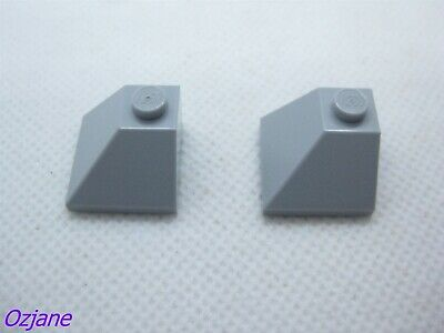 LEGO 3688 NEW Dark Grey 2x2x2 Quadruple Convex 75° Slope 3 Pieces Per Order