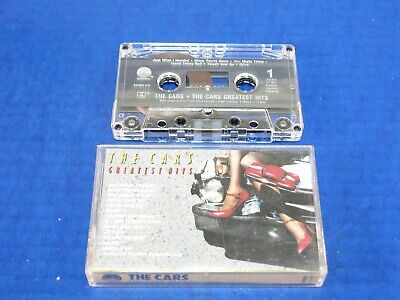 THE CARS - Greatest Hits - 1985 Cassette Tape w/13 Tracks