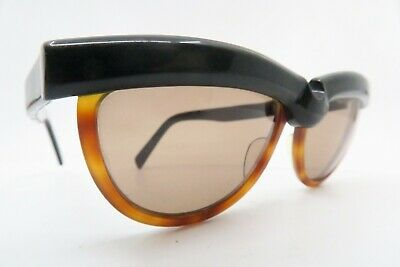 Vintage 80s Alain Mikli sunglasses Mod A.M. 85 layered acetate made in France