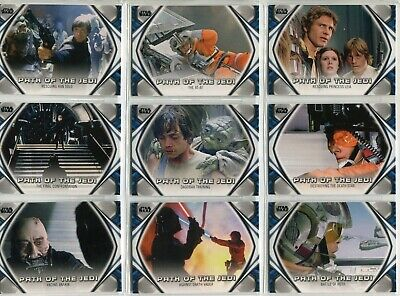 Star Wars Skywalker Saga Complete 10 Card Chase Set Path Of The Jedi