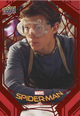 Spiderman Homecoming Red Foil [199] Base Card #9 Web Chemistry
