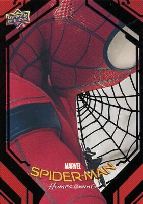 Spiderman Homecoming Black Foil [49] Base Card #51 Insignia Drone