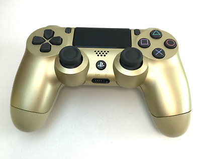 Official Sony PS4 Playstation 4 DualShock Wireless Controller - Gold #U2737