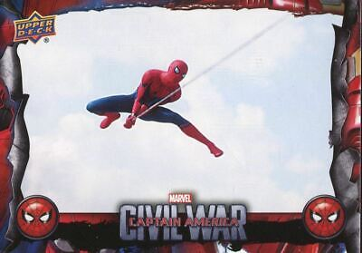 Spiderman Homecoming Civil War Chase Card CW3 Swinging into Action