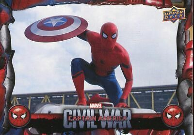 Spiderman Homecoming Civil War Chase Card CW10 Stealing the Shield