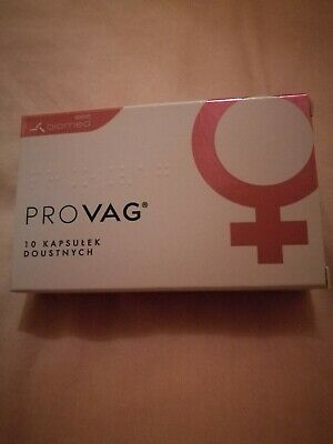 Provag Oral Probiotic for Vaginal Infections 10 Capsules  10 kapsułek