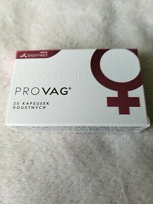Provag Oral Probiotic for Vaginal Infections 20 Capsules  20 kapsułek