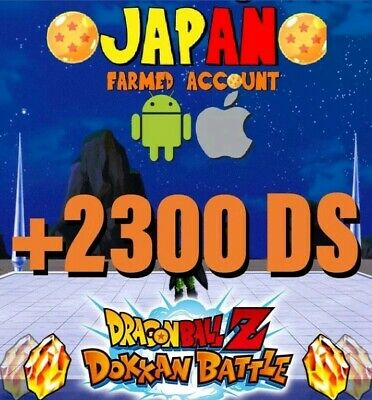 🐉Dokkan Battle🐉- JAP - + 2200 DS (Android/iOS)