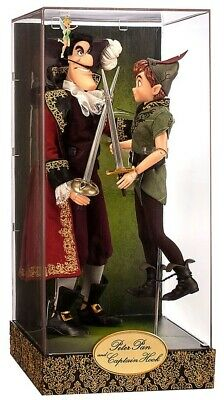 Disney Store Fairytale Designer Collection Peter Pan And Captain Hook Dolls