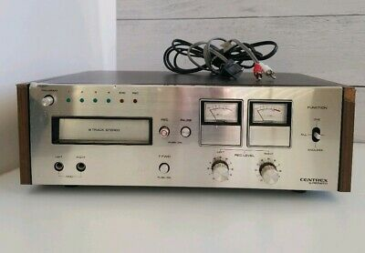 Vintage Pioneer Centrex RH-60 8 Track Player Stereo Recorder Tested