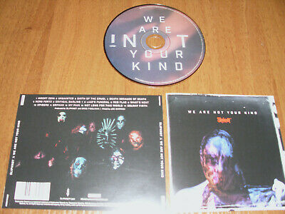 "Slipknot "" We Are Not Your Kind "" 2019  Cd !"