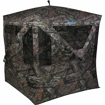 NEW Hunting Blind Mossy Oak Camouflage Ground Portable Deer Protection Camo