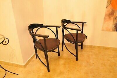 Pair of Thonet Armchairs, Nr. 81