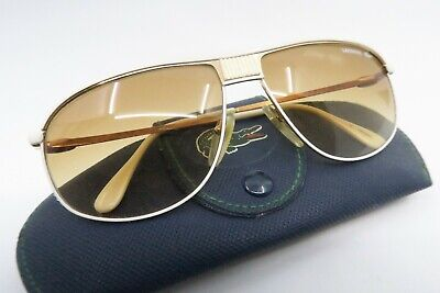 Vintage 70s Lacoste sunglasses with case made in France Mod. 181 men's M Deadly