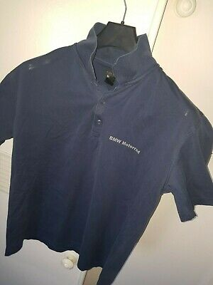 OFFICIAL BMW motorrad t shirt polo shirt gs size large