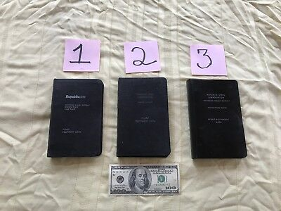 3 Republic Steel Plant Equipment Data Books Youngstown Warren Niles Ohio Sale!!!