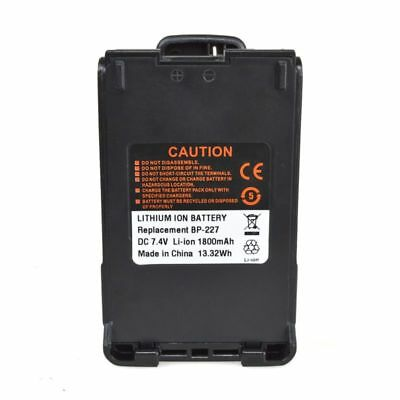 BP-227 Li-ion Battery For ICOM IC-F50 IC-F51 IC-F60 IC-F61 Portable Radio