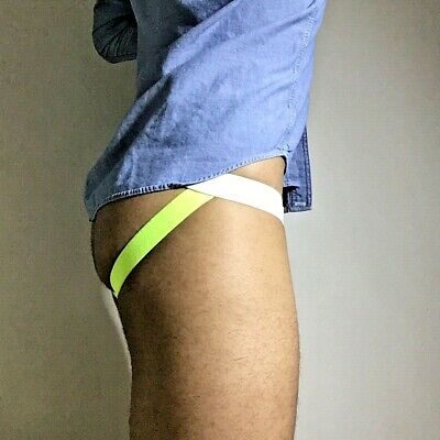 Men's Jockstrap made of unbleached cotton muslin, Perfect Post Prostate Surgery