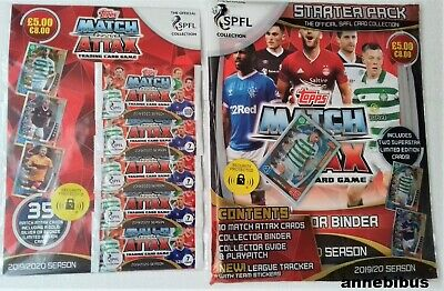 Topps Match Attax SPFL 2019/20 ~ Trading Card Collection  Multipack+Starter pack
