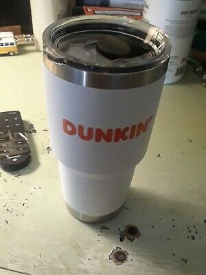 Yeti Tumbler Rambler Travel Mug Dunkin' Dunkin Donuts New With Papers