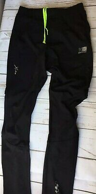 Karrimor All Weather Kids Running Trousers Juniors Size UK 13 Years Black Vgc