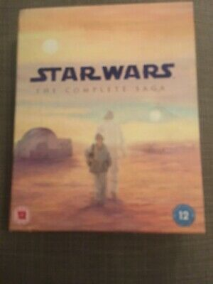 Star Wars - The Complete Saga Blu-ray 9-Disc Set, Box Set 6 Movies And Extras