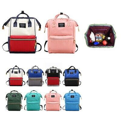 Fashion Mummy Backpack Oxford Travel Backpacks for Girls Maternity Nappy Bags La