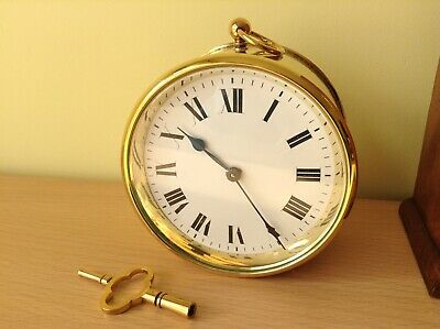 Antique French drum clock D&B ( fully clean in July/19 )