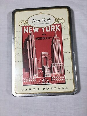 New York The Wonder City 18 Assorted Postcards by Cavallini & Co. New - Sealed