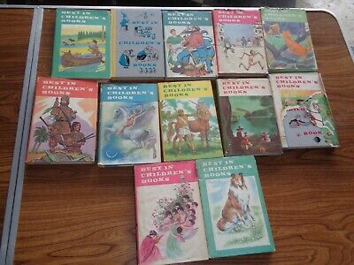 Best In Childrens Books Lot Of 12