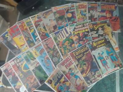 Big Lot of 50  Comics + DC MARVEL & INDEPENDENT Comic Modern-Copper Age  50