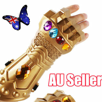 New Thanos Infinity Gauntlet Glove Cosplay Infinity War The Avenge Prop Gift N