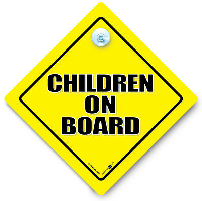 CHILDREN On Board Car Sign, Grandchild On Board, Baby On Board Sign, Baby Sign
