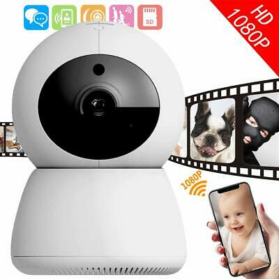 NEW Baby Pet Nanny Monitor Security Camera,Two Way Wireless WiFi IP Night Vision