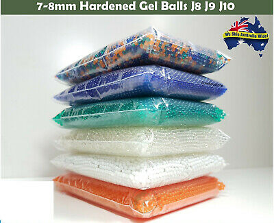 7-8mm Gel Balls Hardened Ammo Gel Blaster Toy 10,000 For Gel Ball Gun Pro Grade