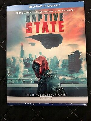 Captive State -  NEW BLU-RAY + DIGITAL Brand New Sealed Ships Today In Hand