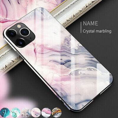 Luxury Marble Tempered Glass Case Cover For iPhone 11 Pro Max X XS XR 8 7 6 Plus