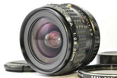 *Exc++* PENTAX SMC PENTAX A 24mm F2.8 K MOUNT MF WIDE ANGLE PRIME LENS #2382